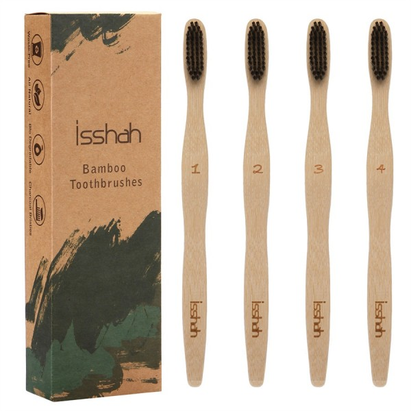 Isshah ECO- friendly Biodegradable Natural Bamboo ...